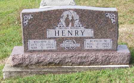 HENRY, BLANCH M. - Tuscarawas County, Ohio | BLANCH M. HENRY - Ohio Gravestone Photos