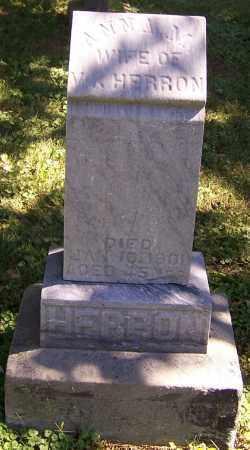 HERRON, ANNA M. - Tuscarawas County, Ohio | ANNA M. HERRON - Ohio Gravestone Photos
