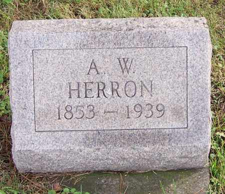 HERRON, A.[ASHBURY] W. - Tuscarawas County, Ohio | A.[ASHBURY] W. HERRON - Ohio Gravestone Photos