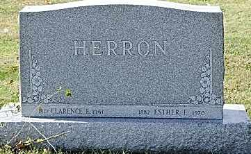 HERRON, ESTHER - Tuscarawas County, Ohio | ESTHER HERRON - Ohio Gravestone Photos