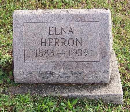 HERRON, ELNA - Tuscarawas County, Ohio | ELNA HERRON - Ohio Gravestone Photos