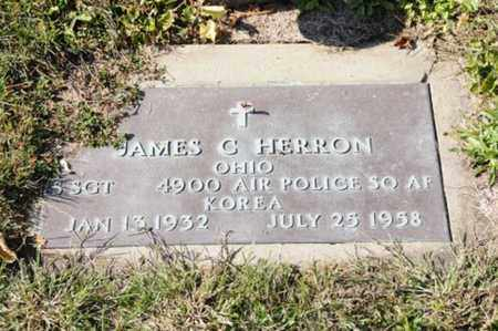 HERRON, JAMES C. - Tuscarawas County, Ohio | JAMES C. HERRON - Ohio Gravestone Photos
