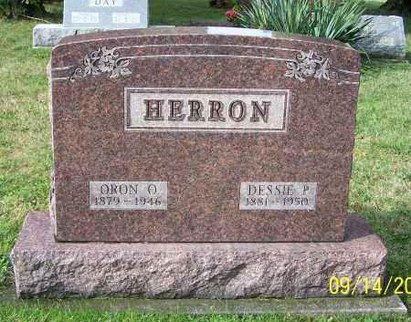 HERRON, ORON O. - Tuscarawas County, Ohio | ORON O. HERRON - Ohio Gravestone Photos