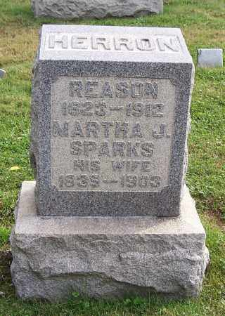 HERRON, MARTHA J. - Tuscarawas County, Ohio | MARTHA J. HERRON - Ohio Gravestone Photos