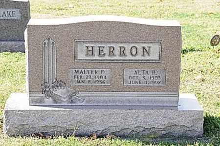 HERRON, WALTER O. - Tuscarawas County, Ohio | WALTER O. HERRON - Ohio Gravestone Photos