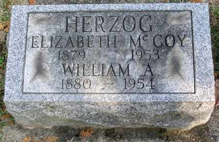 HERZOG, WILLIAM A - Tuscarawas County, Ohio | WILLIAM A HERZOG - Ohio Gravestone Photos