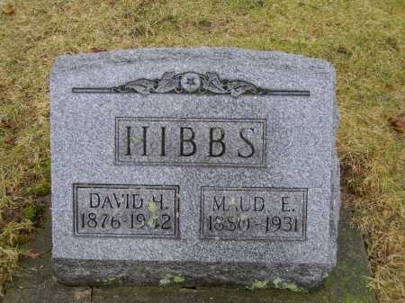HIBBS, MAUD E. - Tuscarawas County, Ohio | MAUD E. HIBBS - Ohio Gravestone Photos