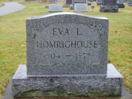 HOMRIGHOUSE, EVA L. - Tuscarawas County, Ohio | EVA L. HOMRIGHOUSE - Ohio Gravestone Photos