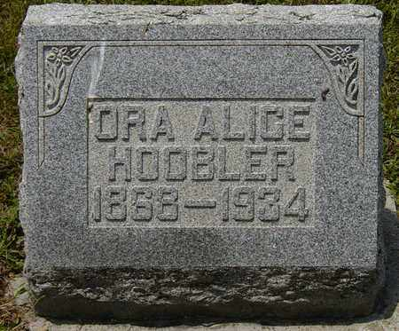 HOOBLER, ORA ALICE - Tuscarawas County, Ohio | ORA ALICE HOOBLER - Ohio Gravestone Photos
