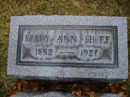 HUFF, MARY ANN - Tuscarawas County, Ohio | MARY ANN HUFF - Ohio Gravestone Photos