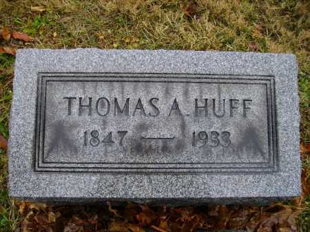 HUFF, THOMAS A. - Tuscarawas County, Ohio | THOMAS A. HUFF - Ohio Gravestone Photos