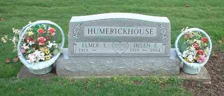HUMERICKHOUSE, ELMER E - Tuscarawas County, Ohio | ELMER E HUMERICKHOUSE - Ohio Gravestone Photos