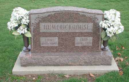 HUMERICKHOUSE, EMMA - Tuscarawas County, Ohio | EMMA HUMERICKHOUSE - Ohio Gravestone Photos