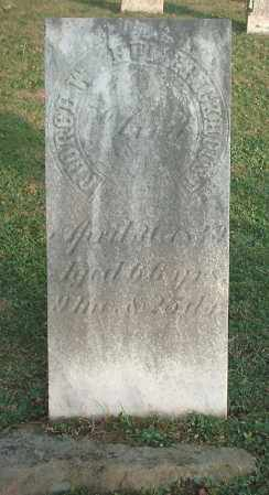 HUMERICKHOUSE, GEORGE W - Tuscarawas County, Ohio | GEORGE W HUMERICKHOUSE - Ohio Gravestone Photos