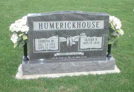 HUMERICKHOUSE, OLIVER R - Tuscarawas County, Ohio | OLIVER R HUMERICKHOUSE - Ohio Gravestone Photos
