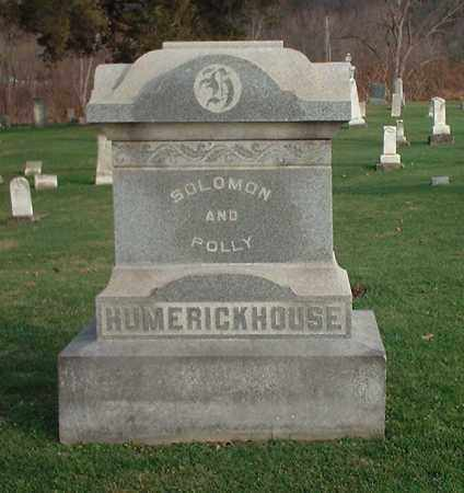 HUMERICKHOUSE, SOLOMON - Tuscarawas County, Ohio | SOLOMON HUMERICKHOUSE - Ohio Gravestone Photos