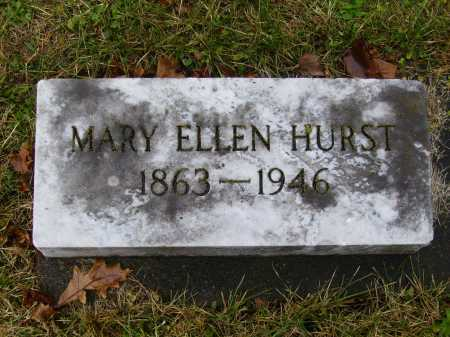 BENFER HURST, MARY ELLEN - Tuscarawas County, Ohio | MARY ELLEN BENFER HURST - Ohio Gravestone Photos