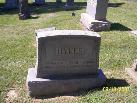 HYKES, EDWARD W. - Tuscarawas County, Ohio | EDWARD W. HYKES - Ohio Gravestone Photos