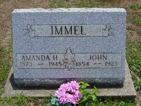 IMMEL, JOHN - Tuscarawas County, Ohio | JOHN IMMEL - Ohio Gravestone Photos