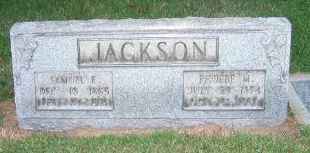 JACKSON, SAMUEL E - Tuscarawas County, Ohio | SAMUEL E JACKSON - Ohio Gravestone Photos