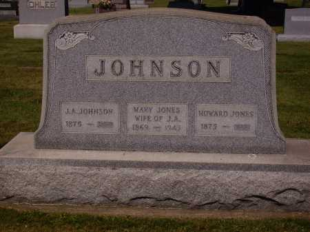 JONES, HOWARD - Tuscarawas County, Ohio | HOWARD JONES - Ohio Gravestone Photos