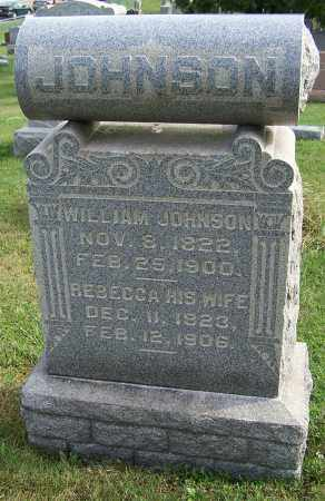 JOHNSON, REBECCA - Tuscarawas County, Ohio | REBECCA JOHNSON - Ohio Gravestone Photos