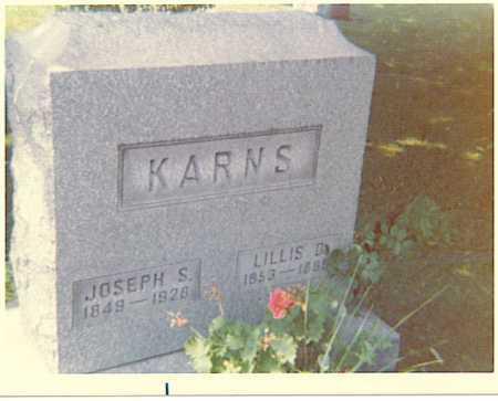 KARNS, JOSEPH - Tuscarawas County, Ohio | JOSEPH KARNS - Ohio Gravestone Photos