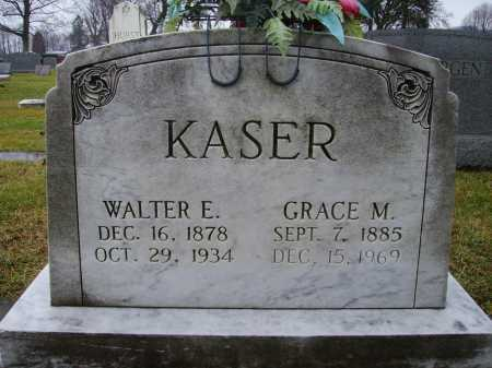 KASER, GRACE M. - Tuscarawas County, Ohio | GRACE M. KASER - Ohio Gravestone Photos
