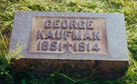 KAUFMAN, GEORGE - Tuscarawas County, Ohio | GEORGE KAUFMAN - Ohio Gravestone Photos
