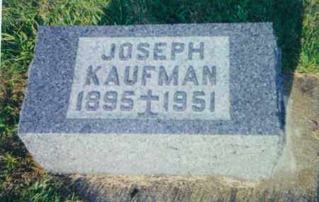 KAUFMAN, JOSEPH - Tuscarawas County, Ohio | JOSEPH KAUFMAN - Ohio Gravestone Photos