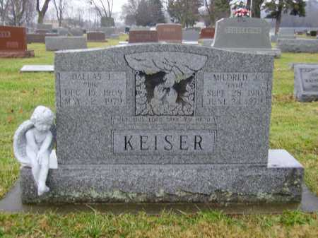 KEISER, MILDRED J. - Tuscarawas County, Ohio | MILDRED J. KEISER - Ohio Gravestone Photos
