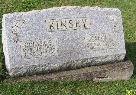 KINSEY, JOSEPH S. - Tuscarawas County, Ohio | JOSEPH S. KINSEY - Ohio Gravestone Photos