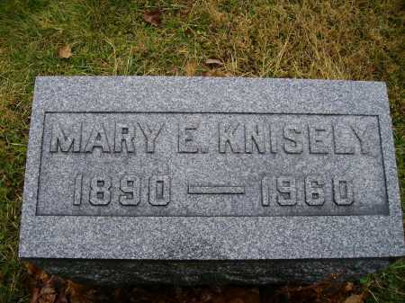 KNISELY, MARY E. - Tuscarawas County, Ohio | MARY E. KNISELY - Ohio Gravestone Photos