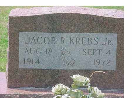 KREBS, JACOB R,   JR - Tuscarawas County, Ohio | JACOB R,   JR KREBS - Ohio Gravestone Photos