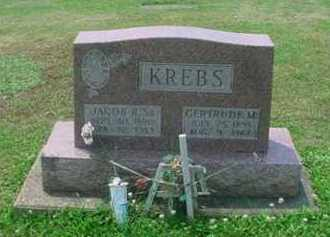 KREBS, GERTRUDE M - Tuscarawas County, Ohio | GERTRUDE M KREBS - Ohio Gravestone Photos