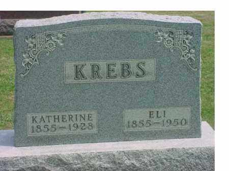 KREBS, KATHERINE - Tuscarawas County, Ohio | KATHERINE KREBS - Ohio Gravestone Photos