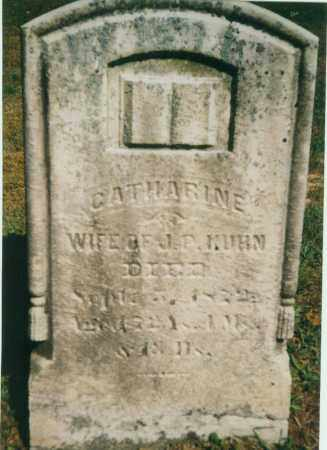KUHN, CATHERINE ANN - Tuscarawas County, Ohio | CATHERINE ANN KUHN - Ohio Gravestone Photos