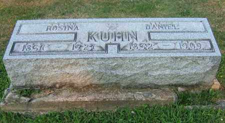 KUHN, DANIEL - Tuscarawas County, Ohio | DANIEL KUHN - Ohio Gravestone Photos
