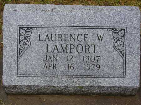 LAMPORT, LAURENCE W. - Tuscarawas County, Ohio | LAURENCE W. LAMPORT - Ohio Gravestone Photos
