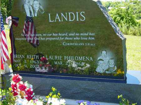 LANDIS, BRIAN KEITH - Tuscarawas County, Ohio | BRIAN KEITH LANDIS - Ohio Gravestone Photos