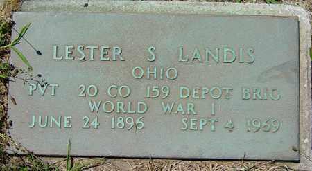LANDIS, LESTER S. - Tuscarawas County, Ohio | LESTER S. LANDIS - Ohio Gravestone Photos