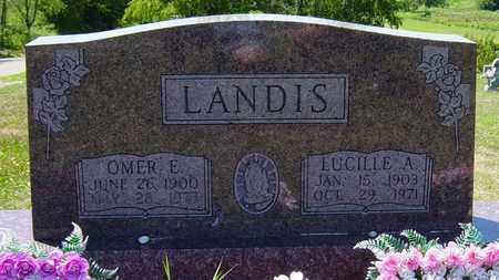 LANDIS, OMER E. - Tuscarawas County, Ohio | OMER E. LANDIS - Ohio Gravestone Photos