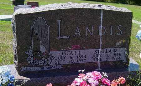 LANDIS, OSCAR L. - Tuscarawas County, Ohio | OSCAR L. LANDIS - Ohio Gravestone Photos