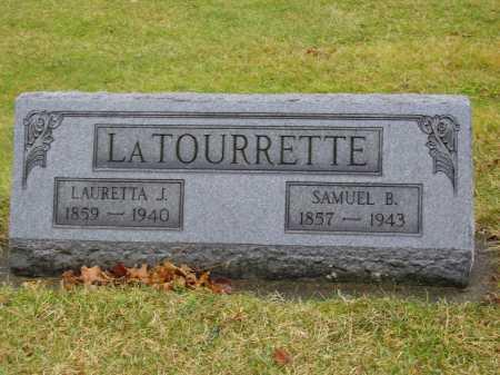 LATOURRETTE, LAURETTA J. - Tuscarawas County, Ohio | LAURETTA J. LATOURRETTE - Ohio Gravestone Photos