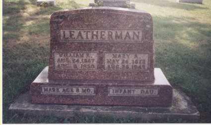 ROBINSON LEATHERMAN, MARY A. - Tuscarawas County, Ohio | MARY A. ROBINSON LEATHERMAN - Ohio Gravestone Photos