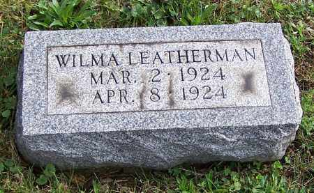 LEATHERMAN, WILMA - Tuscarawas County, Ohio | WILMA LEATHERMAN - Ohio Gravestone Photos