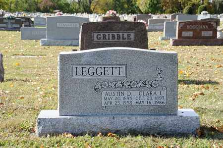 LEGGETT, AUSTIN D. - Tuscarawas County, Ohio | AUSTIN D. LEGGETT - Ohio Gravestone Photos