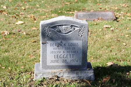 LEGGETT, DERRICK LOUIS - Tuscarawas County, Ohio | DERRICK LOUIS LEGGETT - Ohio Gravestone Photos