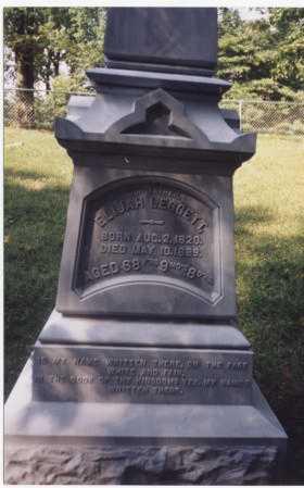 LEGGETT, ELIJAH - Tuscarawas County, Ohio   ELIJAH LEGGETT - Ohio Gravestone Photos