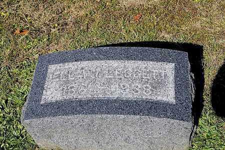 LEGGETT, ELLA - Tuscarawas County, Ohio | ELLA LEGGETT - Ohio Gravestone Photos